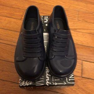 Mini Melissa Shoes - Mini Melissa navy blue sneakers toddler sz10